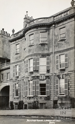 Beckford House, Lansdown Crescent, Bath c.1930