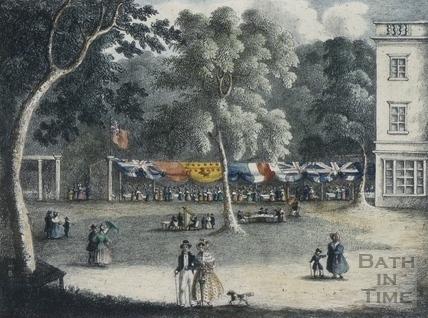 Sydney Gardens Vauxhall, Bath