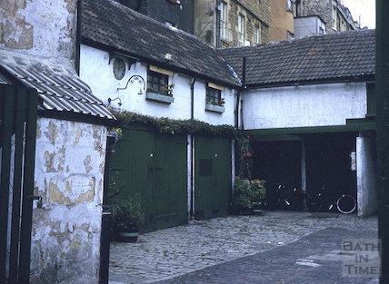 Rivers Street Mews, Bath c.1960