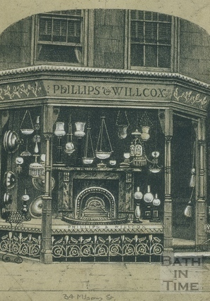 Phillips & Wilcox, 34, Milsom Street, Bath 1863