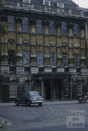 23, Grosvenor Place, Bath 1956
