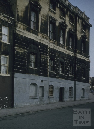 The prison, Grove Street, Bath 1956