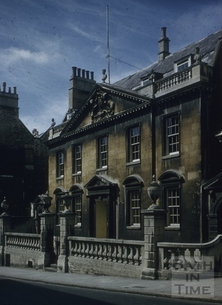 King Edward's Grammar School, Broad Street, Bath 1956