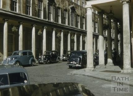 Bath Street, Bath 1956