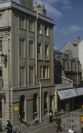 47, Milsom Street and 1 to 5, Green Street, Bath 1955
