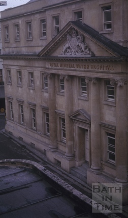 Royal Mineral Hospital, Upper Borough Walls, Bath 1965