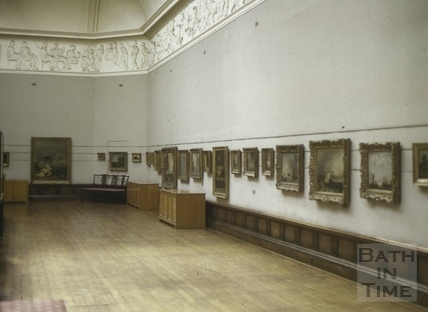 The Victoria Art Gallery, Bath c.1970