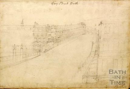 Gay Street, Bath c.1740-1770