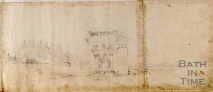 Lilliput Castle, home of Dr. Jerry Pierc, Lansdown, Bath c.1740-1770