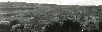 Panoramic view of Bath from Beechen Cliff c.1920