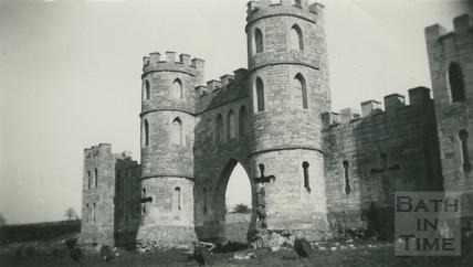 Sham Castle, Bath 1952