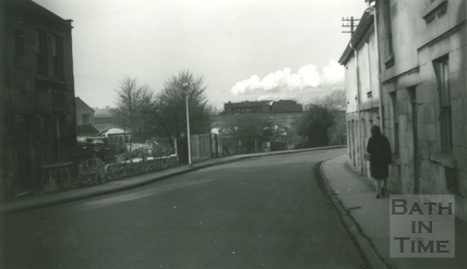 The old red bridge, Brook Road, East Twerton, Bath c.1965