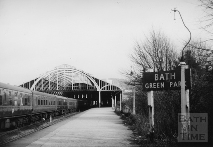 Green Park Station, Bath 1966