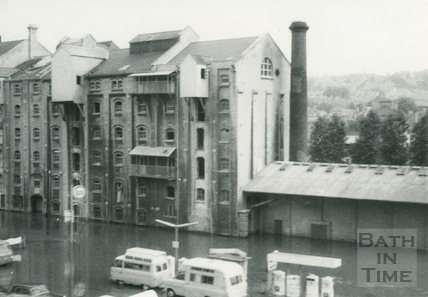 Bath Floods 1968