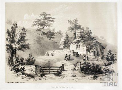 Charlcombe Church c.1850
