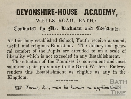 Devonshire House Academy, Wells Road, Bath