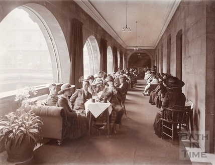 Pump Room (Terrace), Bath 1914