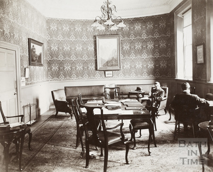 Pump Room (Drawing Room), Bath c.1900