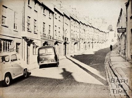 Lampard's Buildings, Bath 1965