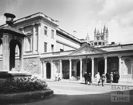 King's and Queen's Baths, Bath 1975/6