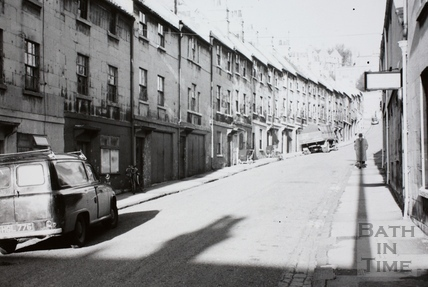 Lampard's Buildings, Bath 1965