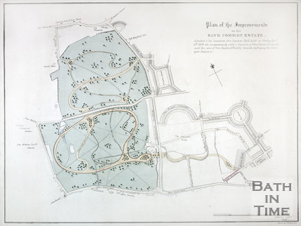 Plan of the Improvements on the Bath Common Estate