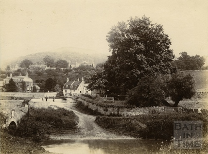 The ford at Bathford c.1900