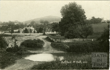 Postcard view of the ford at Bathford c.1905