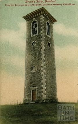 Postcard view of Brown's Folly, Bathford c.1905