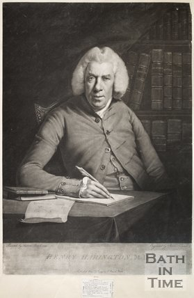 Mezzotint of Henry Harington M.D. November 5th 1799
