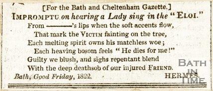 April 5th (Good Friday) 1822