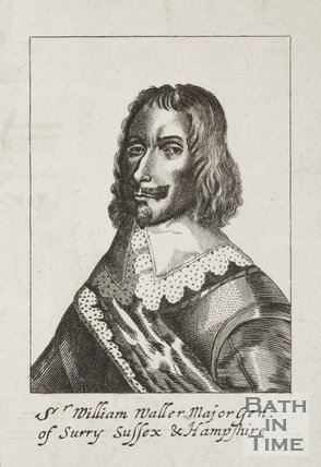 Engraving of Sir William Waller, Major-General of Surrey, Sussex and Hampshire