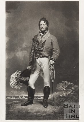 Engraving of Portrait of Rear-Admiral Parry (whilst Captain) May 19th 1836