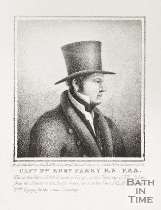 Lithograph of Captain William Edward Parry, R.N., F.R.S.