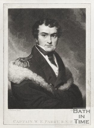 Engraving of Captain W.E. Parry R.N, F.R.S,