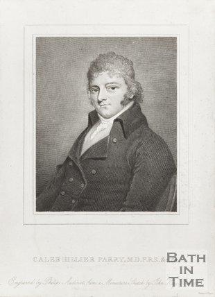 Portrait of Caleb Hiller Parry, M.D. F.R.S.