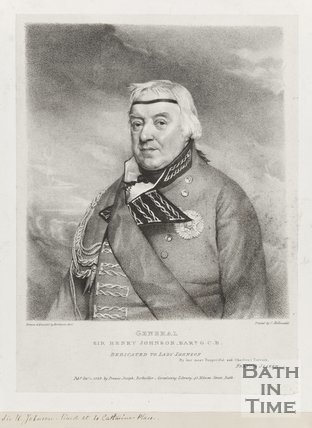 Engraving of General Sir Henry Johnson. Bart. G.C.B