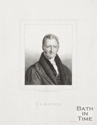 Portrait of T.R. Thomas Malthus