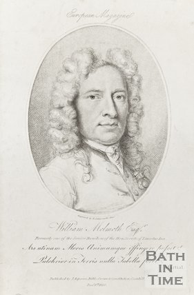 Engraving of William Melmouth Esq. formerly one of the senior Benchers of the Hon. society of Lincolns Inn December 1st 1810