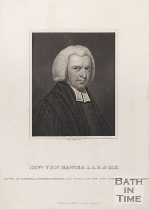 Portrait of Rev. Thomas Hawies L.L.B and M.D., Rector of Aldwinkle Northamptonshire and Chaplain to Countess of Huntingdon