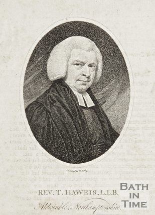 Portrait of Rev. Thomas Hawies L.L.B and M.D. Aldwinkle Northamptonshire