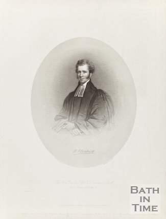 Portrait of Hon. Rev. William J. Broadrick, A.M. Late Rector of Bath. Died August 29th 1870