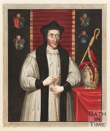 Portrait of Bishop Fox of Winchester, Founder of Corpus Christi College Oxford.