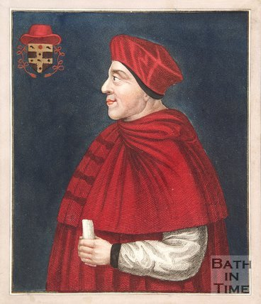 Portrait of Cardinal Wolsey Founder of Christ Church College Oxford.