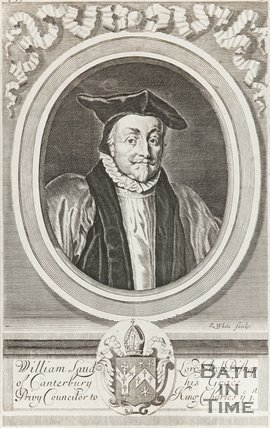 Portrait of William Laud, Archbishop of Canterbury, His Grace Privy Councillor to King Charles I