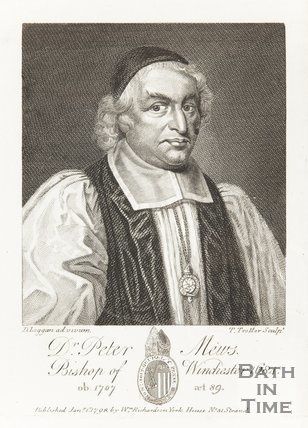 Portrait of Dr. Peter Mews Bishop of Winchester 1684, Ob 1707 aged 89