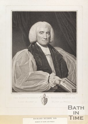 Portrait of Right Rev. Richard Beadon D.D. Lord Bishop of Bath and Wells