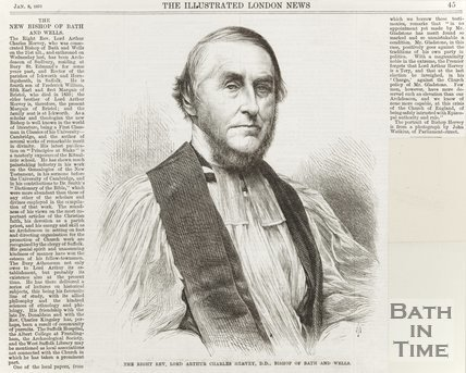 The new Bishop of Bath and Wells (Right Rev. Lord Arthur Charles Hervy D.D.) January 8th 1873