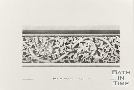 Part of Cornice (Half full size), Bath Abbey 1834