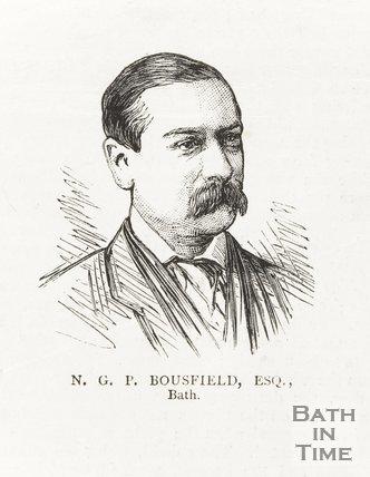 Portrait of N.G.P. Bousfield Esq., Bath